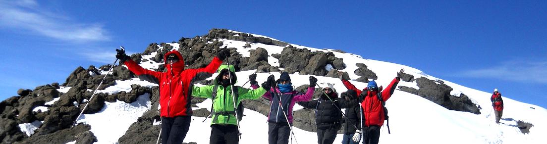Group Join climb Kilimanjaro Safari