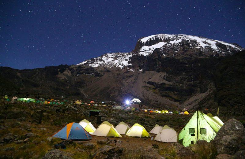 kilimanjaro full moon